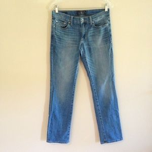 Lucky Brand Sweet Straight Medium Wash Jeans
